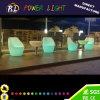 Im Freienmöbel modernes dekoratives buntes LED Stab-Sofa RGB-