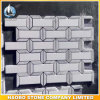Commercio all'ingrosso Polished bianco di pietra delle mattonelle di mosaico di qualità