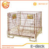 Envase plegable del acoplamiento de alambre del objeto semitrabajado del animal doméstico