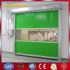 Puertas de alta velocidad inducidas automáticas de la persiana enrrollable de la tela (YQRD026)