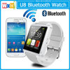 Bluetooth Wristwatch를 가진 Ios를 위한 2015 새로운 Bluetooth Smartwatches U8 Smart Watch 및 Andriod Mobile Phone