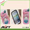 Alta calidad linda de la cubierta del teléfono celular del silicón del conejo para Samsung