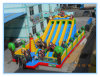 China Inflatable federnd Castle mit Slides ANG Climbs (FLCA)