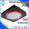 Alta luz alta de la bahía de la eficacia LED para el taller/las luces industriales