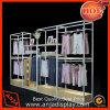 Стеллажи для выставки товаров одежды одевая мебель индикации