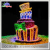 Изготовление 3D Christmas Holiday/Commercial Decoration Light