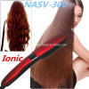 2016 Anion Fast Hair Straightener Peigne Nasv Brush Hair Straightening Négatif Ions Auto LCD Céramique Hair Straightener Brush