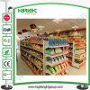 Mensola del supermercato, mensole del reparto, scaffalatura della gondola della memoria