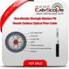PE van het Lid van de Sterkte van Gyfta (s) de Niet-metalen Optische Kabel Van uitstekende kwaliteit van de Vezel van de Schede Openlucht