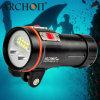 재충전용 5200 루멘 수중 영상 가벼운 방수 100meters