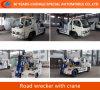 4*2 Schleppseil Crane Road Wrecker Rescue Wrecker Truck mit Crane