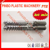 원뿔 Plastic Extruder Screw 및 Barrel