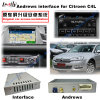 Auto androide GPS-Navigationsanlage-videoschnittstelle für Citroen C4, C5, C3-Xr (MRN SYSTEM) Aufsteigen-Noten-Navigation, WiFi, Mirrorlink, Form-Bildschirm