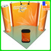 Portable en aluminium Velcro Fabic Pop vers le haut Display pour Advertizing