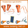 Camping Travelling를 위한 통합 Mini LED Solar Flashlight Lighting