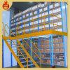 Mezanino de cremalheira ajustável do armazenamento do metal