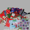 Bolso impreso arte modificado para requisitos particulares del regalo de las compras del papel de Kraft de la Navidad