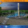Fontaine droite colorée extérieure de syndicat de prix ferme de musique de gicleur