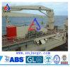 Grúa marina de la cubierta de la nave de la grúa de la venta del auge hidráulico caliente del nudillo