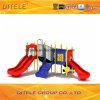 89mm galvanisierter Pfosten-bunter luxuriöser Ozean-Bergsteiger und doppeltes Plättchen-Kind-im Freienspielplatz-Gerät