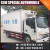 Het Roomijs Cold Van Truck van het Lichaam van de Vrachtwagen van het Vervoer van het Bevroren Voedsel van de vervaardiging 6m3
