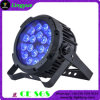 Etapa de RGBWA+UV 18X18W que enciende la IGUALDAD al aire libre 64 del LED