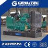 Conjunto de generador diesel del motor barato trifásico de 100kVA China Yuchai