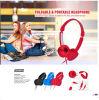 Hoofdtelefoon van de Steekproeven van de Gift van de Producten van de bevordering de Vrije Flexibele Stereo