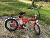 Pequeña bicicleta eléctrica ligera plegable de Ebike