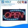 Elektronisches LED geöffnetes Zeichen des Hidly Vierecks-
