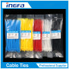 Plastikreißverschluß bindet Nylonkabelbinder für Bündel-Kabel und Draht
