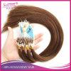 Il micro micro del ciclo di Remy anello umano europeo dei capelli del micro borda le estensioni dei capelli di Prebonded