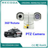 Appareil-photo antivibration du véhicule de police de caisse en métal PTZ avec le zoom de 18X 26X 36X