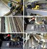 Gfq Serien-Computer-Steuerplastikfilm-Polythen-Beutel-Weste-Beutel-Maschinen