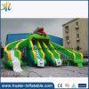 Diapositiva inflable gigante, diapositiva de agua inflable del lagarto para la venta