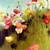 Pittura a olio Handmade sulla serie del Tela di canapa-Prato