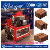 케냐에 있는 Hr1-20 Hydraform 찰흙 벽돌 만들기 기계 건축기계 벽돌 기계