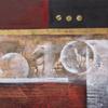 Peinture abstraite (FC029-02 70X70)