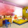 Nuevo diseño a todo color impresos comerciales de vinilo Revestimiento de paredes Papel pintado mural