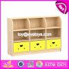 Qualität scherzt Schlafzimmer-Möbel-natürlichen hölzernen kleinen Speicher-Schrank W08c206