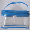 Sac de main en plastique respectueuse de l'environnement de PVC \ EVA avec la tirette