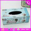 Оптовая дешевая домашняя декоративная деревянная коробка W18A004 ткани