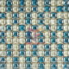 25*25*14 arco iris Glass Mosaic para Bathroom (CFR619)