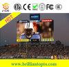 Sport esterni dello stadio che fanno pubblicità allo schermo di P10 LED