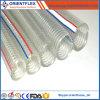 Boyau renforcé Anti-UV de fil d'acier de PVC d'Anti-Produit chimique