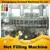 3 в 1 Automatic Glass Bottle Juice Hot Filling Machine