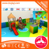 Slides를 가진 아이 Outdoor Wooden Playhouses Playground Equipment