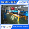Máquina de estaca do gás do plasma do CNC da construção de aço