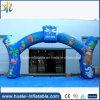Kommerziellesreizendes mit Firmenzeichen-Drucken-aufblasbarem Bogen für im Freien