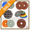 다중 Compound Back Plate Granite 및 Marble Polishing Pads